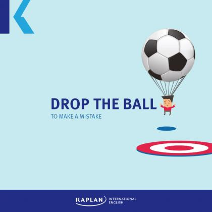 drop the ball