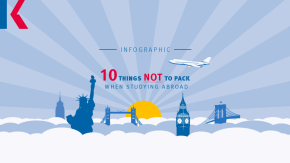 10 things not to pack when you study aboard