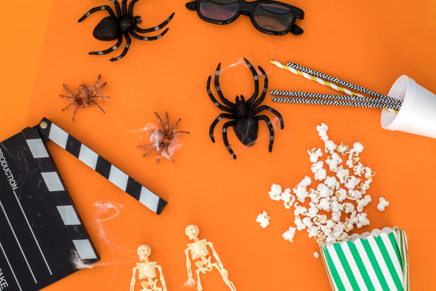 Halloween movie genres learn English