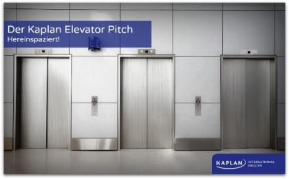 Kaplan elevator pitch