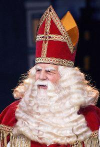 Santa Claus, popular in December celebrations