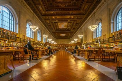 The Public Library in New York