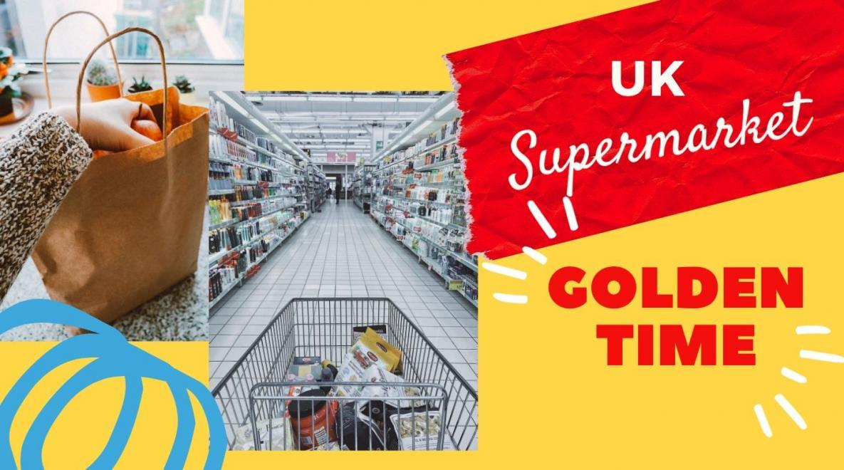 UK supermarket Golden Time