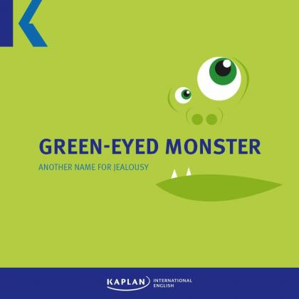 Green-eyed monster