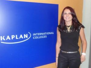 Teacher Casey at Kaplan Sydney