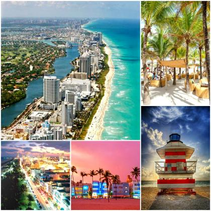 miami beste Stadt in den USA - Strand