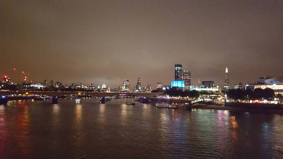 You'll be seeing South Bank during the day, but it's definitely worth a trip back at night